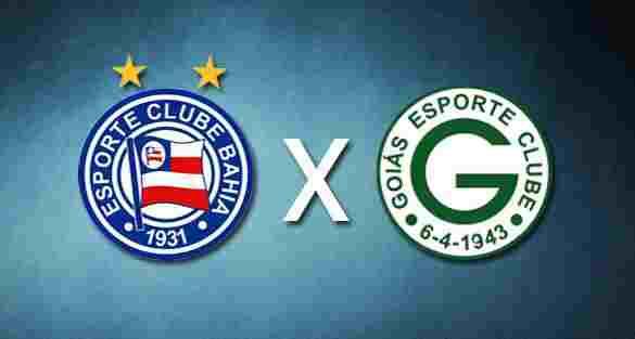 Goiás x Bahia hoje ao vivo 17/09/2016