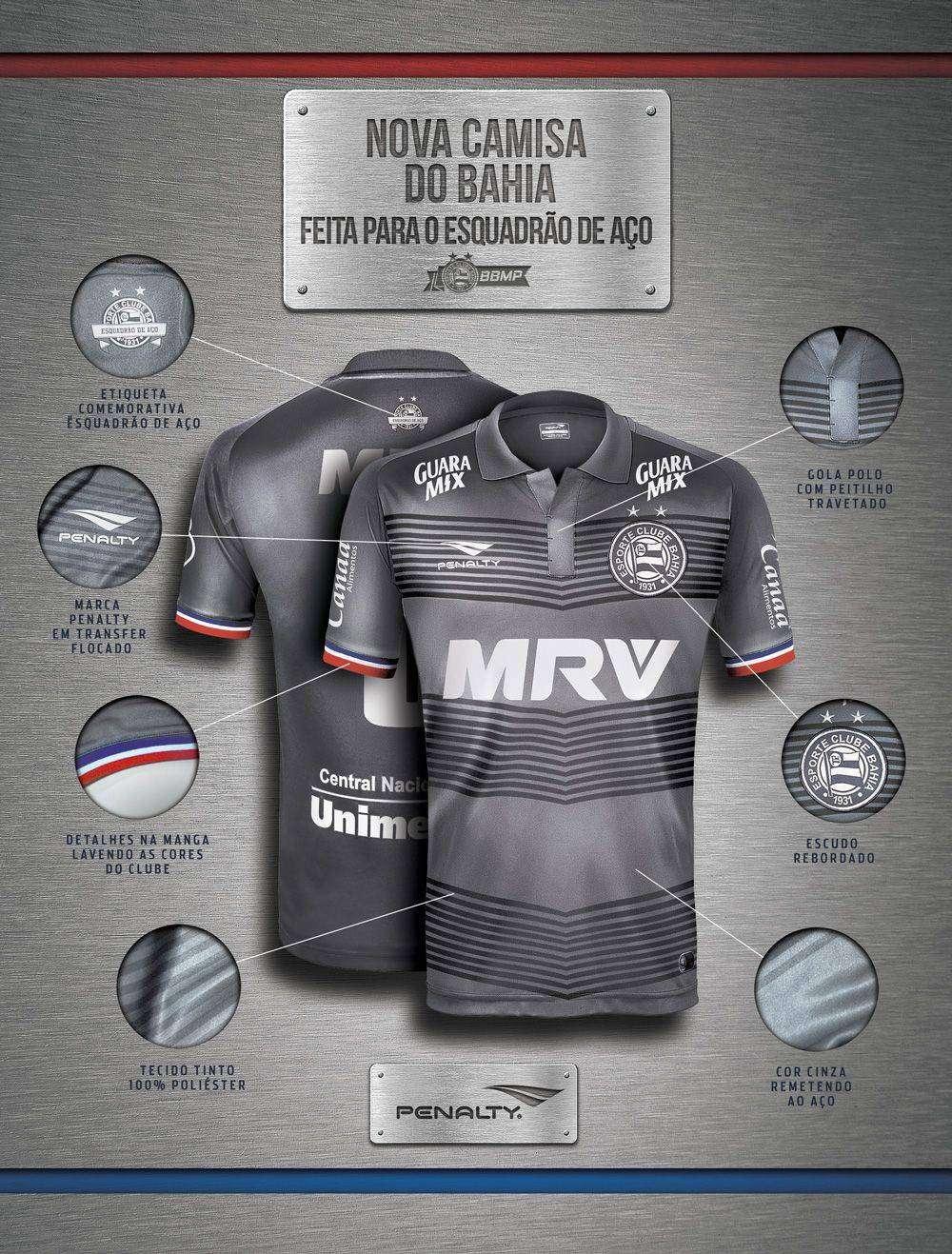 3de9d42fb0 É DE AÇO! - Notícias Esporte Clube Bahia