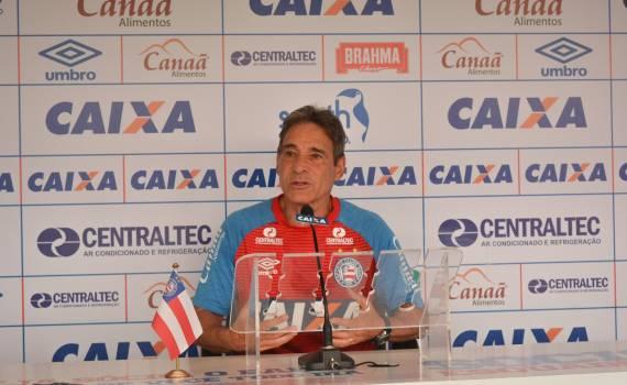 O treinador Carpegiani comandou o Bahia em duas oportunidades a29ffbed43ad3