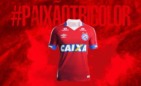 96bd66b454089 O Bahia e a Umbro apresentam nesta sexta-feira (27) o novo fardamento nº 3  do clube