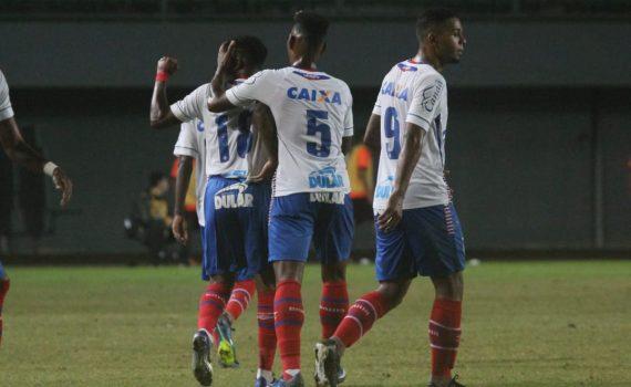 e54cd79780 ... o time sub-23 do Bahia enfrentou o Atlético Paranaense e conquistou o  primeiro resultado positivo dentro do Campeonato Brasileiro de Aspirantes.