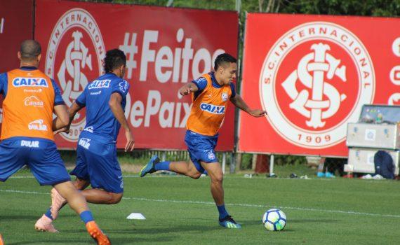 d98a4f86eb ... o elenco do Bahia fez o único treinamento com bola antes do compromisso  diante do Grêmio