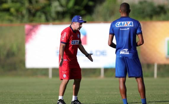 5cb652e8a6987 Com um treinamento tático na tarde desta segunda-feira (14) o Bahia  encerrou mais um dia de trabalho da pré-temporada. O Tricolor estreia em  2019 contra o ...